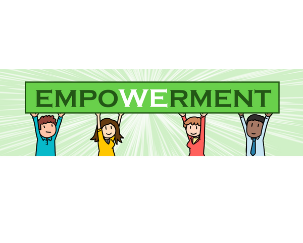 "There's no ""I"" in empowerment"